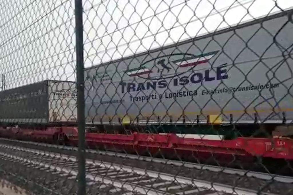 trasporto combinato camion ferrovia